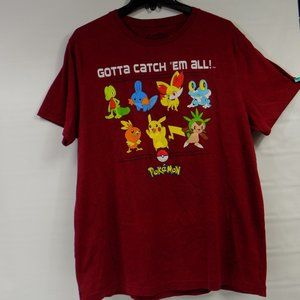 Pokemon Gotta Catch Em All T-Shirt Size XL